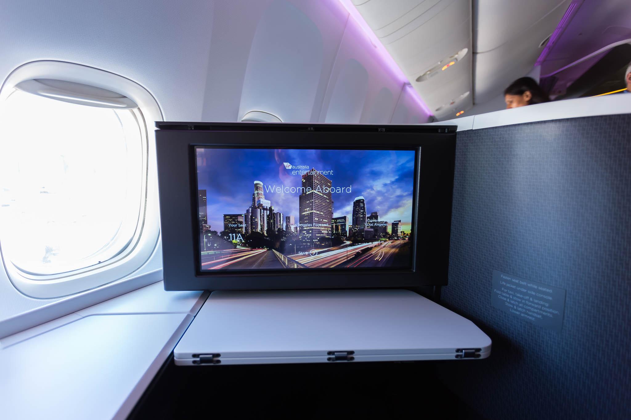 Virgin Australia 777 Business Class