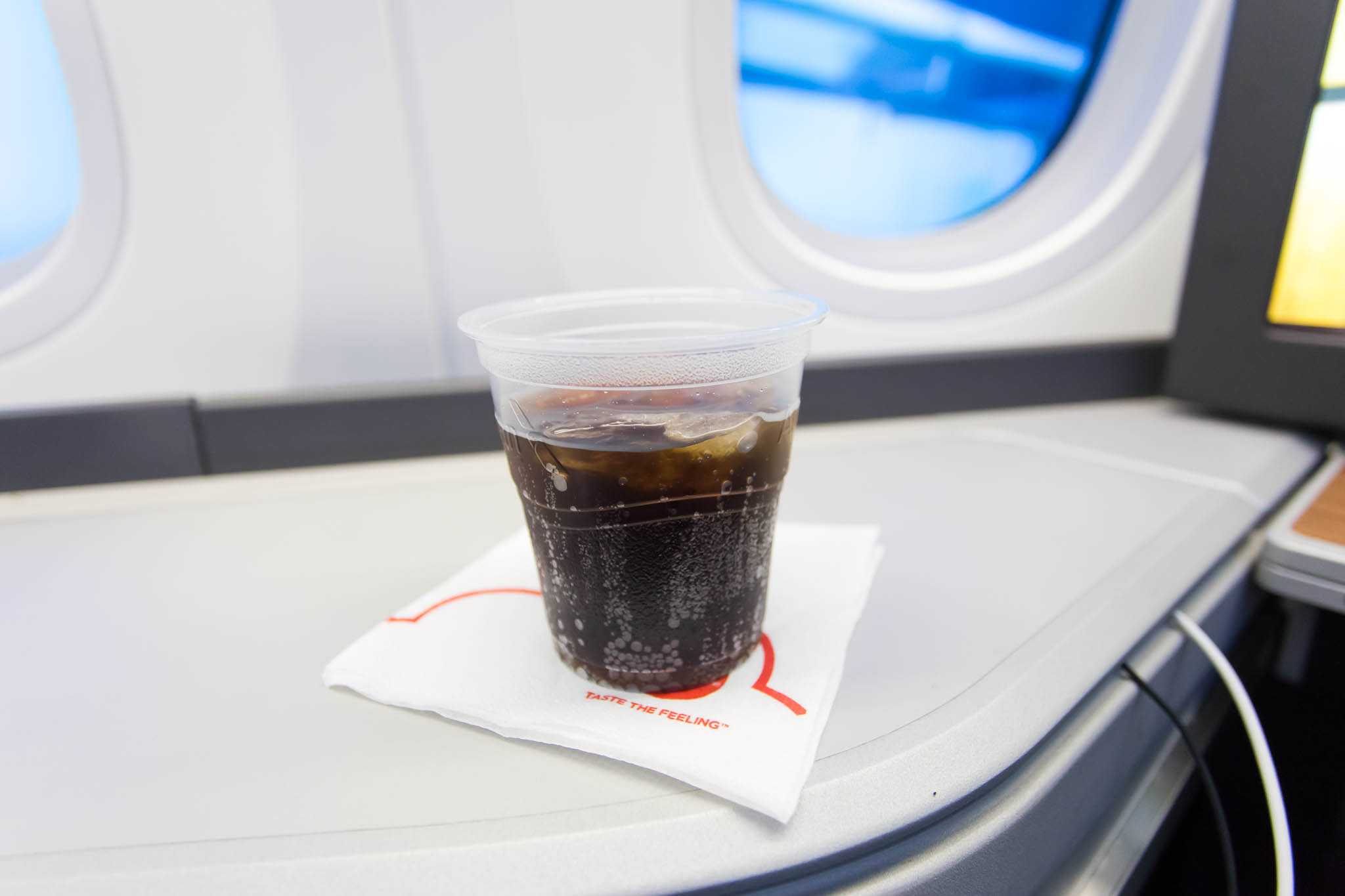 Pre Takeoff Beverage