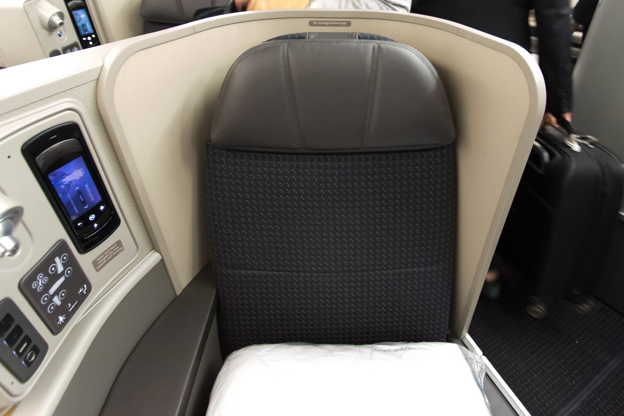 American Airlines Trans-Con First Class