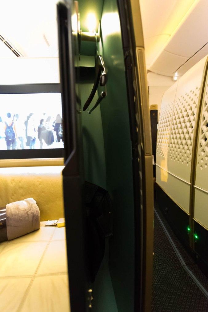 Etihad 787 First Class Seat 2A Hangar