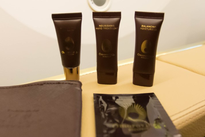 Etihad 787 First Class Amenity Kit Omorovicza Products