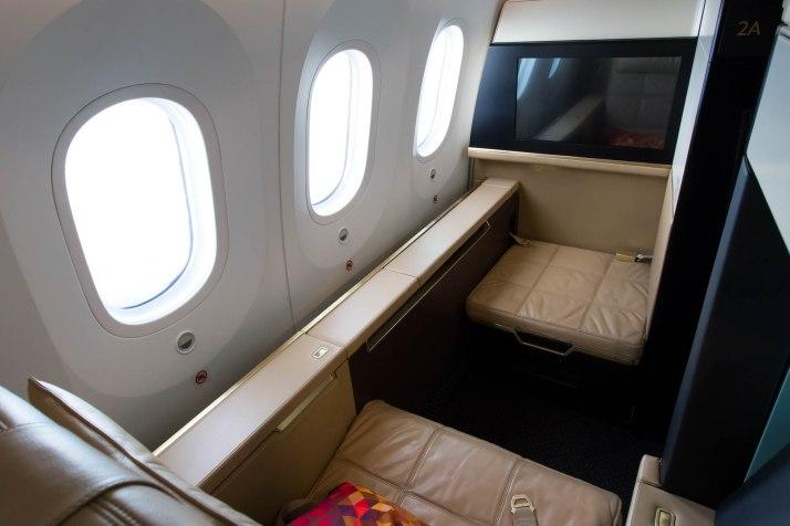 Etihad 787 First Class Cabin